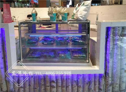 上海莓兽饮品东洋蛋糕冷冻柜工程案例